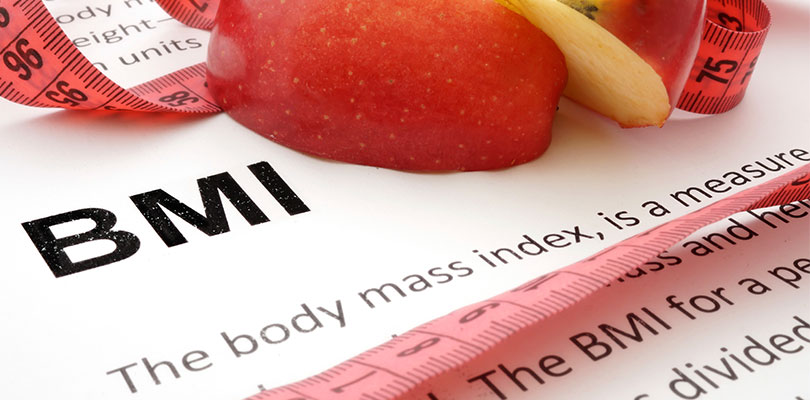 The definition of BMI in a medical textbook