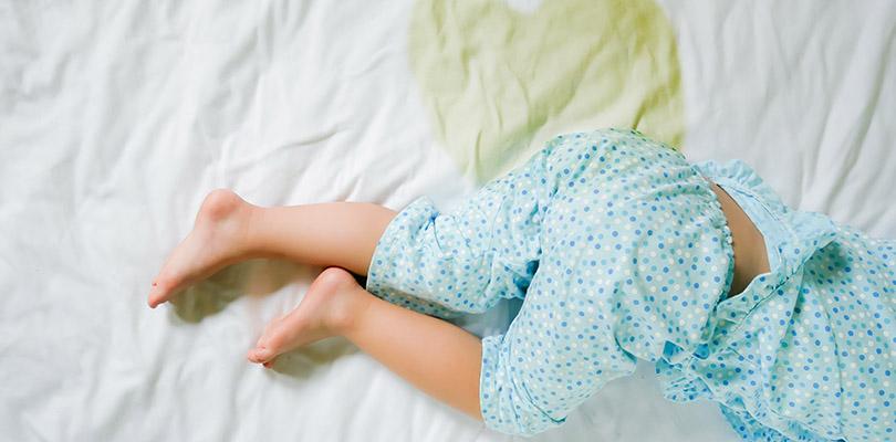 Child pee on a mattress