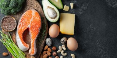 Foods that are found in a keto diet.