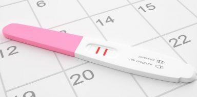 A pregnancy test.