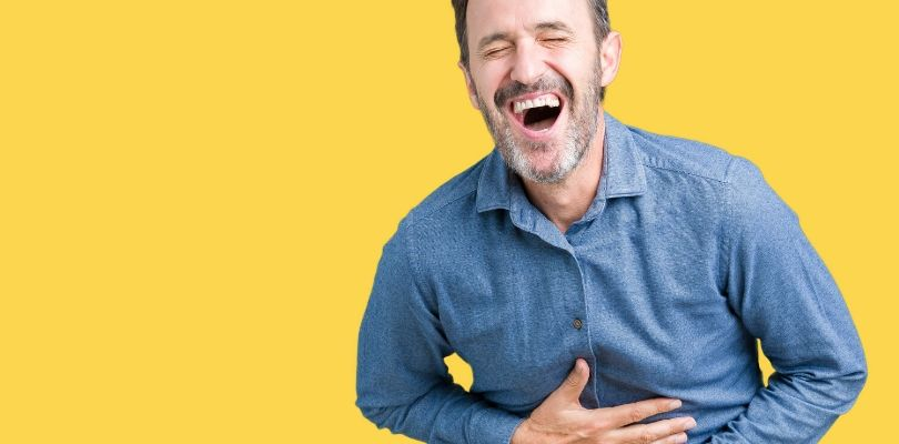 Pseudobulbar affect can cause excessive laughing or crying.